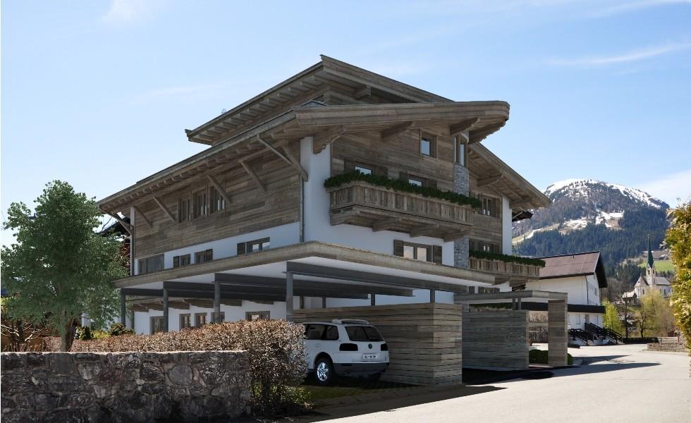 jagdhaus residenzen hk architektur st johann in tirol