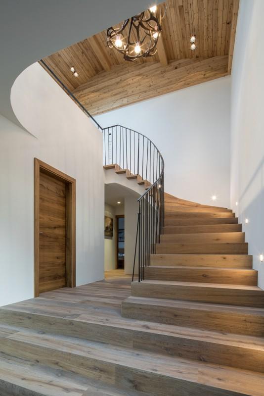 Haus f hk architektur st johann in tirol for Modernes wellnesshotel tirol