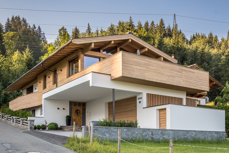 Haus f hk architektur st johann in tirol for Modernes tirolerhaus