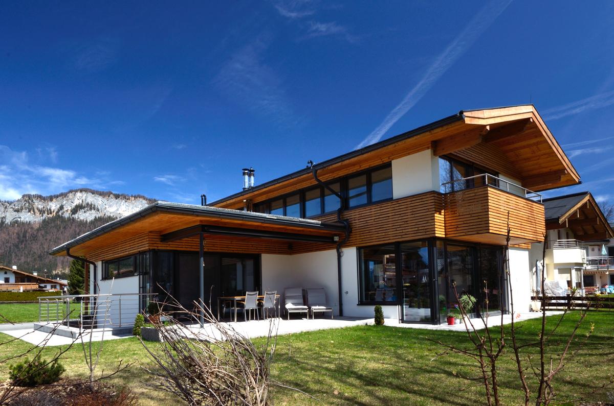 Haus e t k hk architektur st johann in tirol for Modernes haus projekte